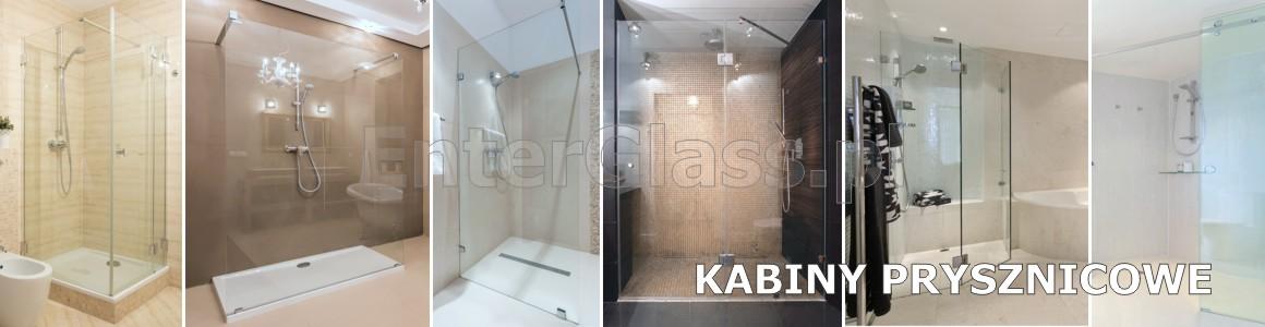 Kabiny prysznicowe: narożnikowe, wnękowe, parawany typu walk in.