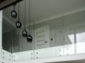 Balustrada szklana.